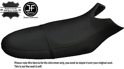 BLACK STITCHING CUSTOM FITS SEA DOO RX 00-06 AUTOMOTIVE VINYL SEAT COVER + STRAP