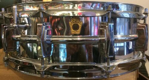 "1965 Ludwig No. 400 Supraphonic 5"" x 14"" Chrome-Over-Aluminum Snare Drum"