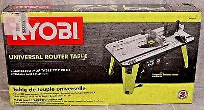 "New Ryobi A25RT02G Universal Router Table 32"" x 16"" Complete"