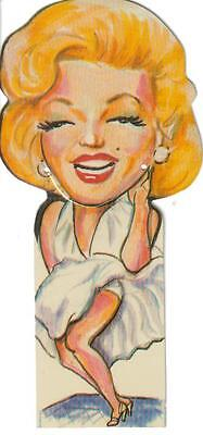 Marilyn Monroe Book Bites Bookmark By Flair - high-quality plastic