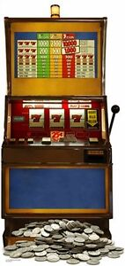 FRUIT-MACHINE-ONE-ARMED-BANDIT-CARDBOARD-CUTOUT