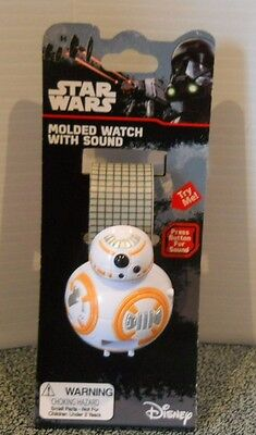 Star Wars Bb 8 Watch With Sound From Disney In Original Packaging New With Tags