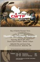 CWTF STOMPIN TOMS CONSERVATION BANQUIT
