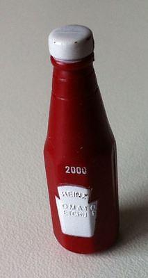 Heinz Ketchup Flasche als Ansteck Brosche