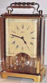 SCHATZ 8 Day Carriage Clock
