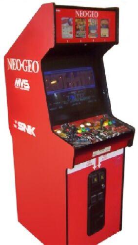 NEO GEO ARCADE MACHINE by SNK 1989 (Excellent Condition) *RARE*