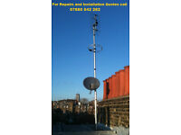 Satellite Aerial Engineer - 07880 542282- Freesat & Sky installer Freeview installs N13 N21 N14 N22