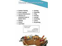 House Maintenance