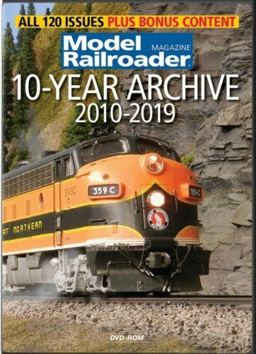 Model Railroader 10 Year Archive DVD