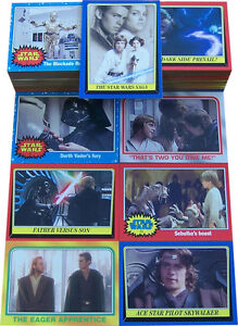 Star Wars Heritage 2004 Topps 120 Card Base Set
