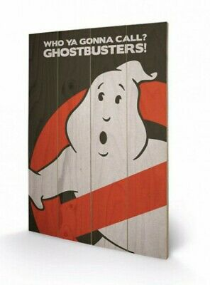 Ghostbusters - Logo Poster Auf Holz (60x40cm) #69544