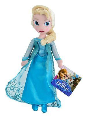 Disney Frozen Eisprinzessin Elsa 25 cm Plüsch zum Kuscheln Schnäppchen NEU