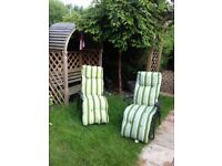 4 brand new garden chairs bought from asda for £25 each