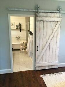 Vintage OLD Timber Sliding BARN DOORS Reclaimed Rustic salvaged r Southport Gold Coast City Preview