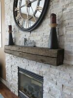 Modern mantel/ fireplace surround starting at 250$