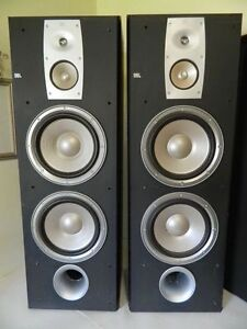 """JBL ND310 TOWER SPEAKERS - GREAT CONDITION, DUAL 10"""" WOOFERS"""