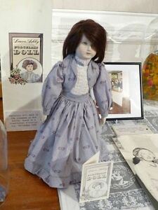 Laura Ashley Porcelain Doll 1984 Victorian clothing