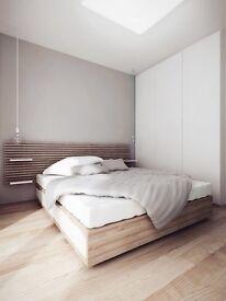 Mandal Ikea bed headboard 2x