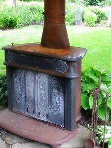 Wanted old wood stove to re-purpose for outdoor fire pit!!