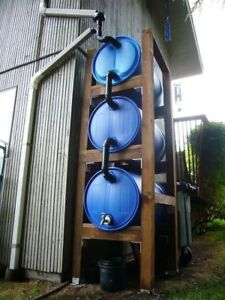 Rain Barrels 55 gallon for collection water,