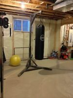Custom Made Heavy Bag Stand