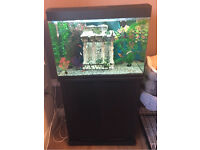 100L fish tank and stand
