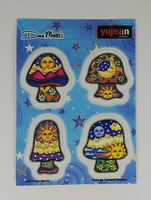 MINI NEW Dan Morris Mushroom Celestial Vinyl Planner Sticker Set