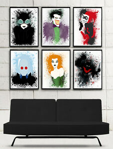 Splatter Art Prints - DC / Marvel / Star Wars / Video Game London Ontario image 3
