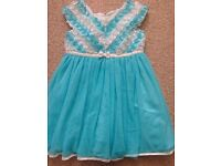 Girls party dress 2 years