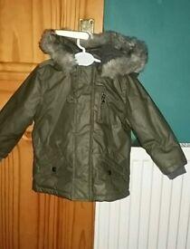 Baby's winter coat