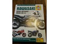 Kawasaki ex er 500 manual