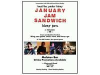 January Jam Sandwich
