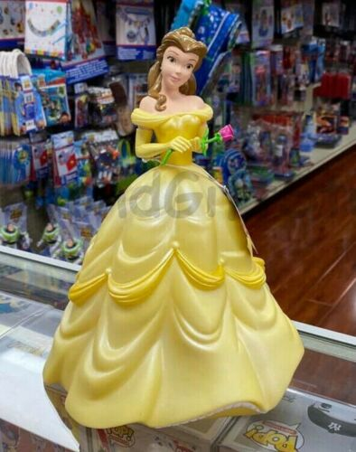 Belle Beauty and The Beast Figural Bank Molded Coin Bank Decorative