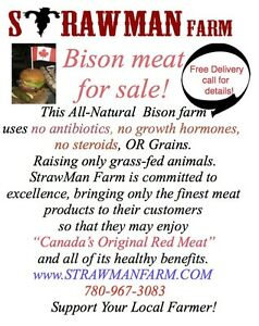 Bison meat for sale . all natural meat meat for sale. local meat Edmonton Edmonton Area image 3