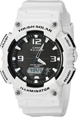 Casio G-Shock Ana-Digi Tough Solar 100m White Resin Watch AQS810WC-7AV