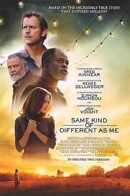 Same Kind Of Different As Me   Original Ds Movie Poster   27X40 D S
