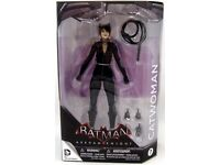 "Batman Arkham knight ""catwoman"" figure"