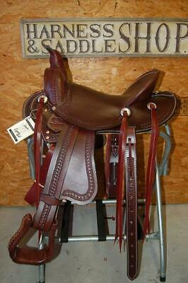 """Used, 16"""" G.W. CRATE LADIES WADE ROPING SADDLE MADE IN BRYANT ALABAMA  for sale  Bryant"""