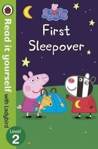 Peppa-Pigs-First-Sleepover-Ladybird-New-Paperback-Book-Read-it-Yourself