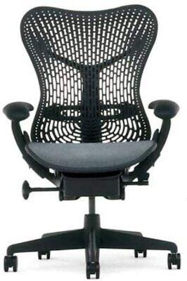 Herman Miller Mirra Black Aeron Chair Wfully Adjustable Features