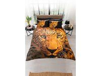Leopard print duvet sets