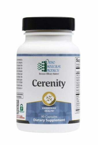 Ortho Molecular Cerenity 90 Capsules Exp. 4/21 FRESH & FAST!