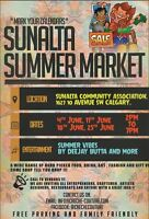 SUNALTA SUMMER MARKET CALL TO VENDORS!