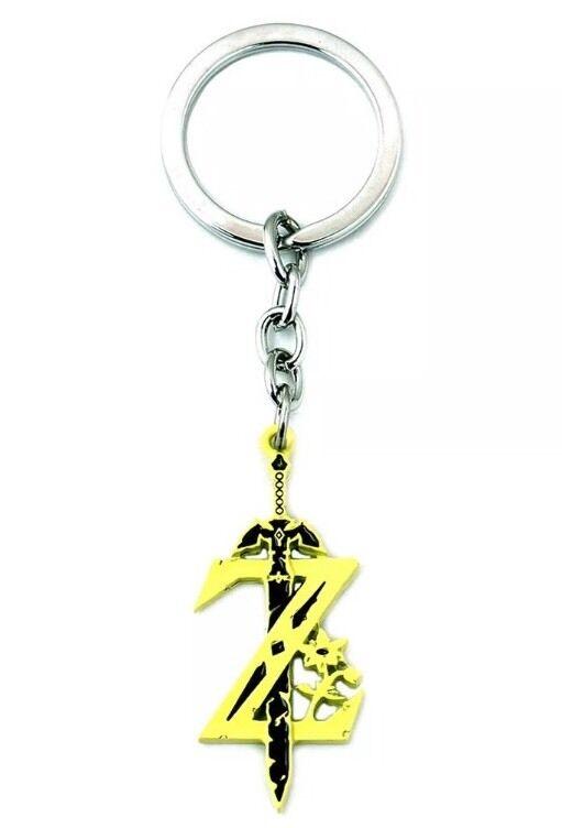 """The Legend of Zelda Link Sword Metal Keychain 2"""" US Seller"""