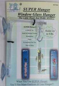 Window Hanger Hook for Birdfeeders, Windchimes, etc