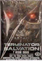2009 Topps Terminator Salvation Card Set & Free Plastic Case