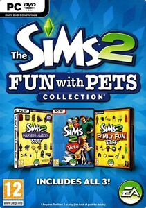 The Sims 2 Fun with Pets Collection PC Game BRAND NEW