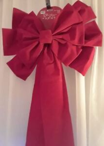 Large Christmas bows - indoor/outdoor - brand new