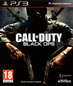Jeu de ps3 call of duty black ops comme neuf