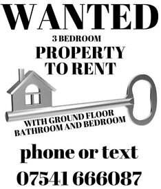 WANTED to rent ( Antrim - Ballymena areas)